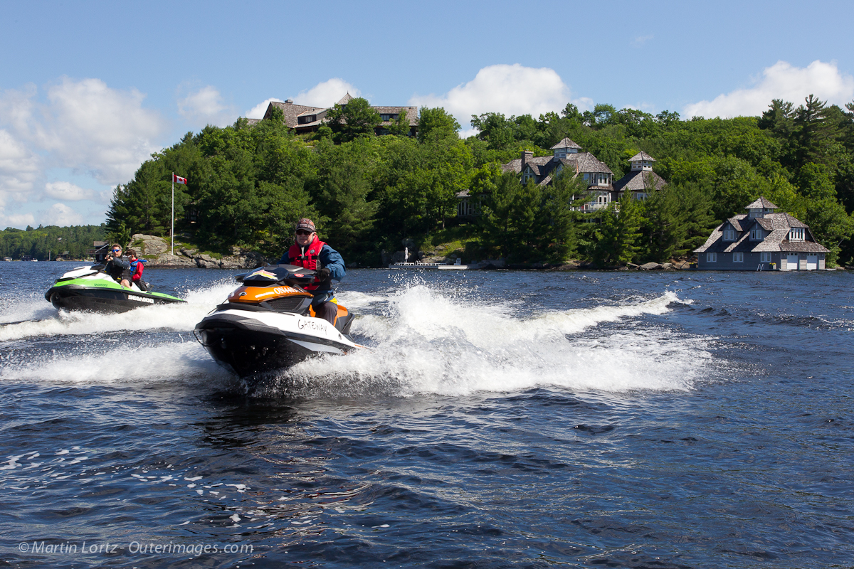 muskoka sea doo tour video