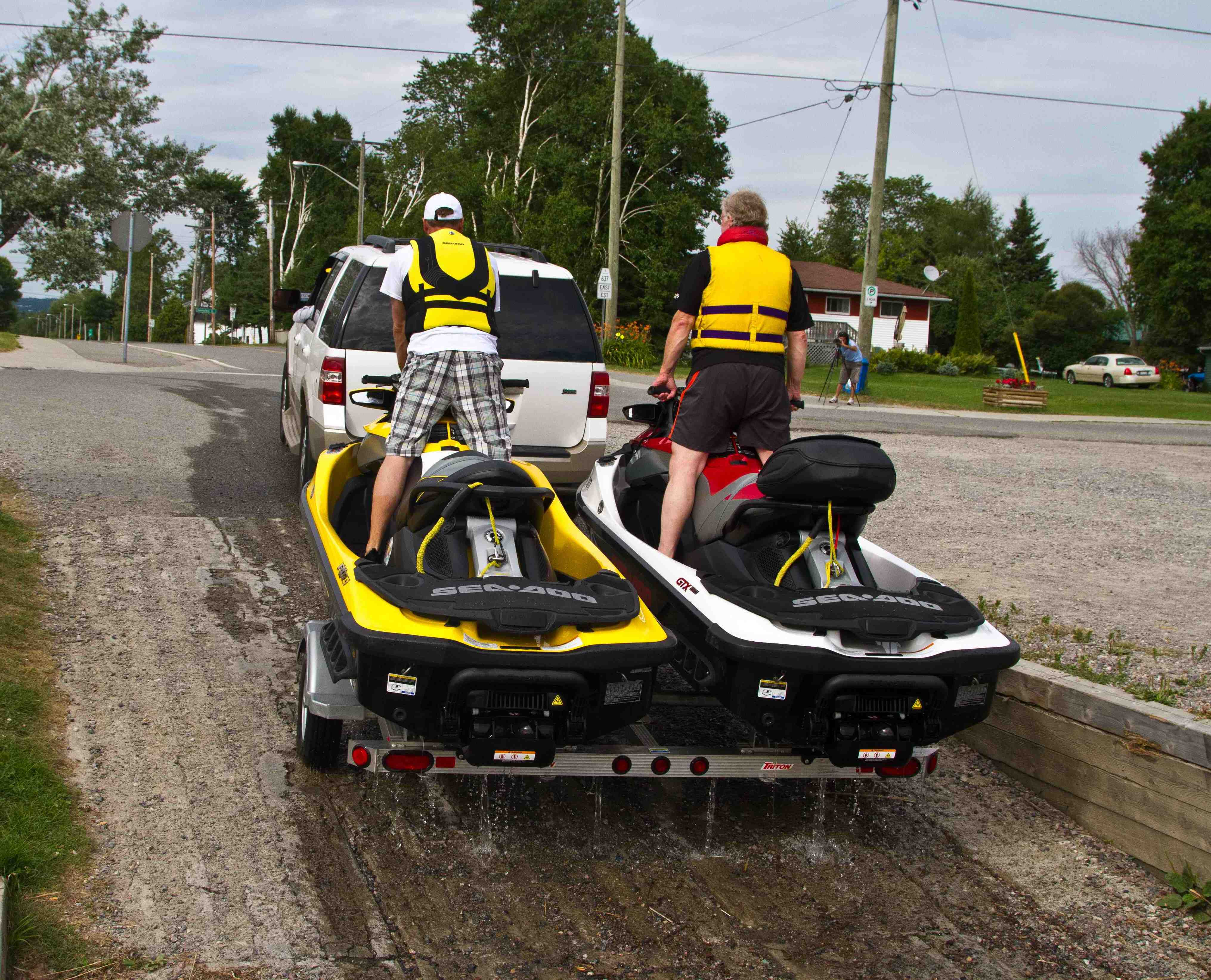 ontario sea doo launches