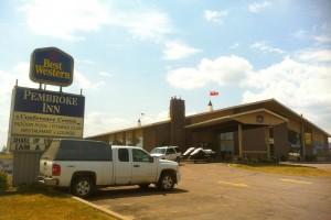 Photo of Best Western Hotel, Pembroke on Ottawa River Sea Doo Tour Blast