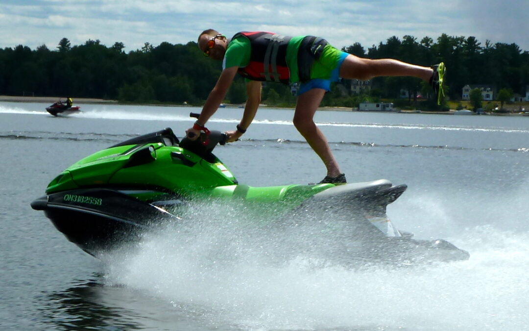 Sea Doo Acrobatics Fun On The Water