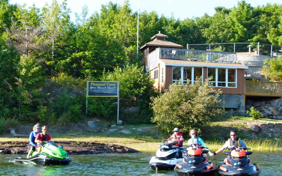 Pleasant Cove Resort Pointe au Baril Ontario