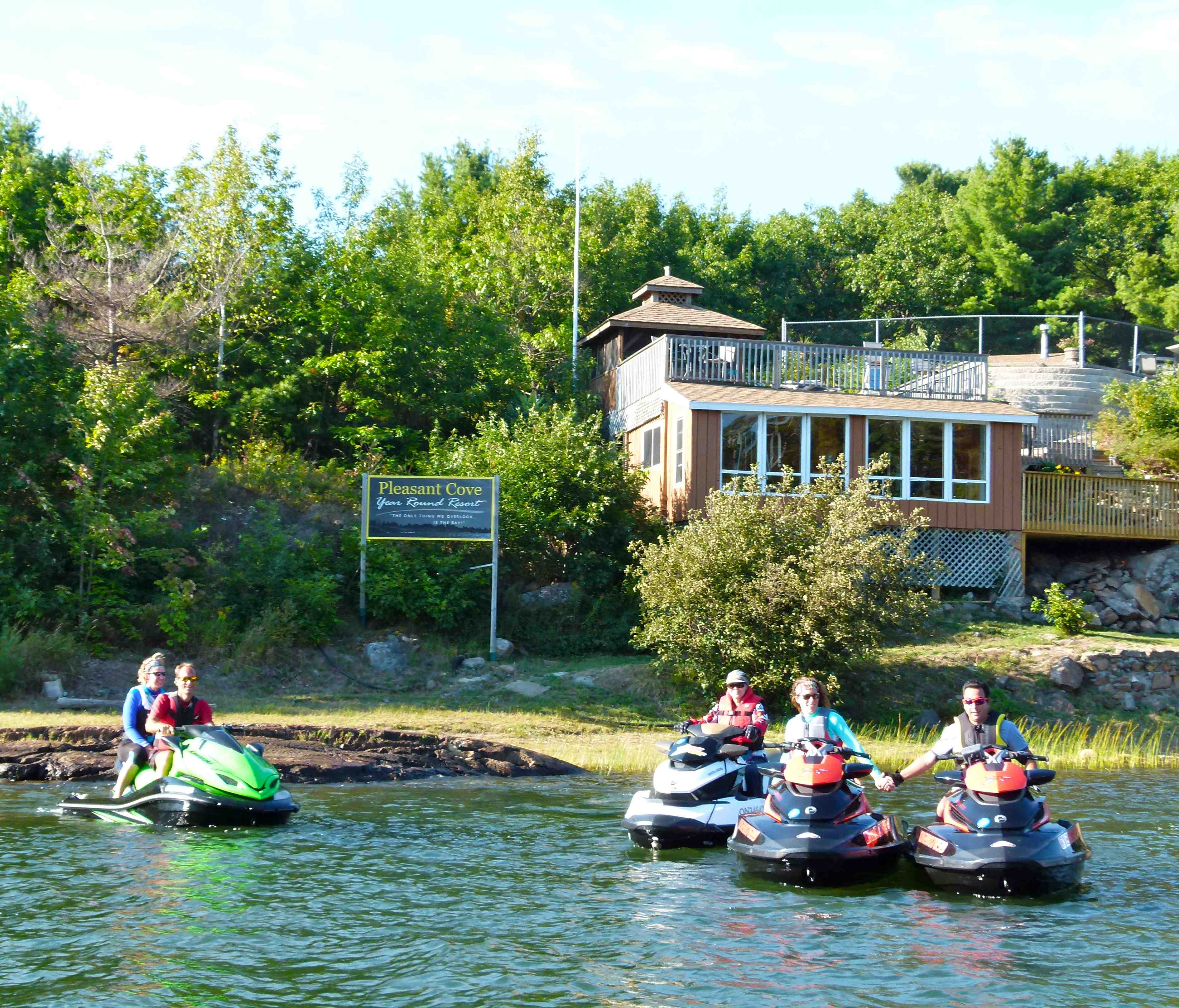 Photo of pleasant cove resort pointe au baril