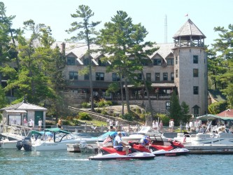 Ojibway Club near Pointe au Baril on Georgian Bay North Sea Doo Tour