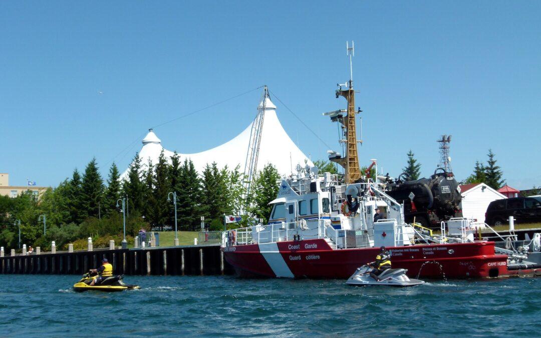 St Joseph Island Sea Doo Tour Video Ontario
