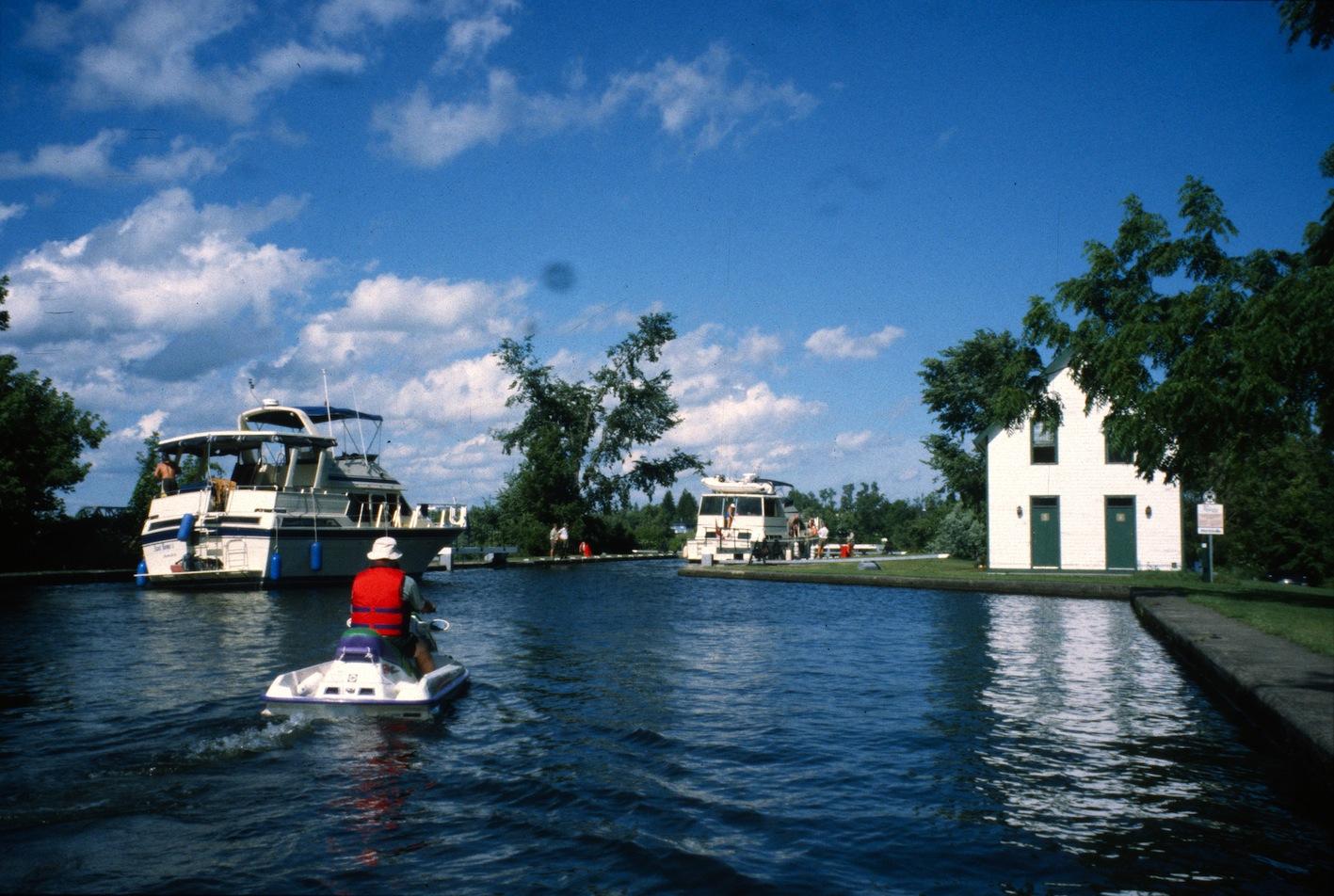 Rideau Canal Sea Doo Tour