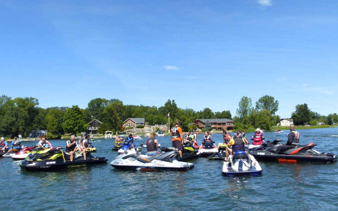 Watercraft Ride For Dad Fights Prostate Cancer
