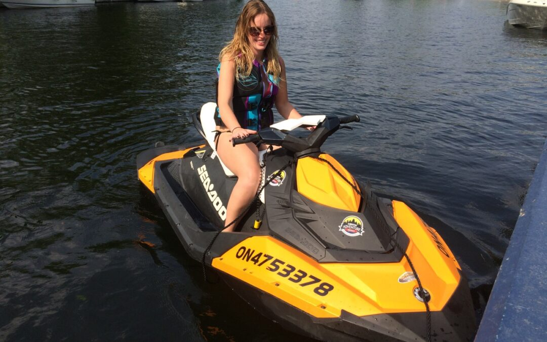 Sea Doo Spark Kawartha Adventure Rentals
