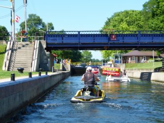 Six Best Ontario Waterway Bypass Systems: Bobcaygeon Lock & Swing Bridge