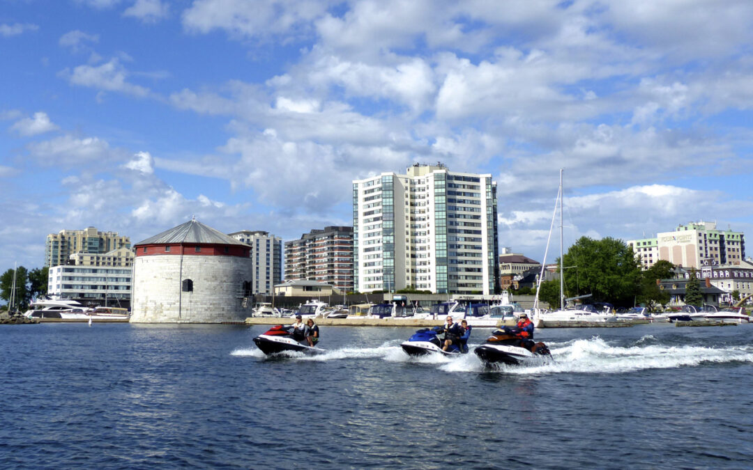 Sea Doo Friendly Kingston Ontario Tour Planner