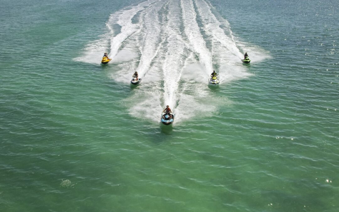 Getting Ready To Sea Doo Ride For The Summer