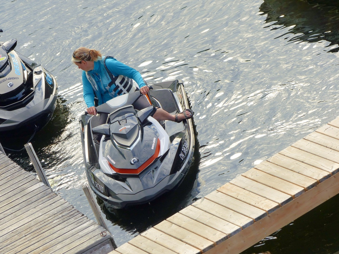 sea doo docking