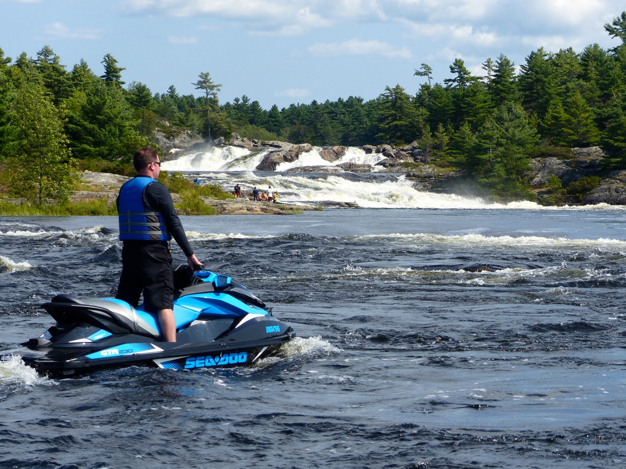 parry sound sea doo tour