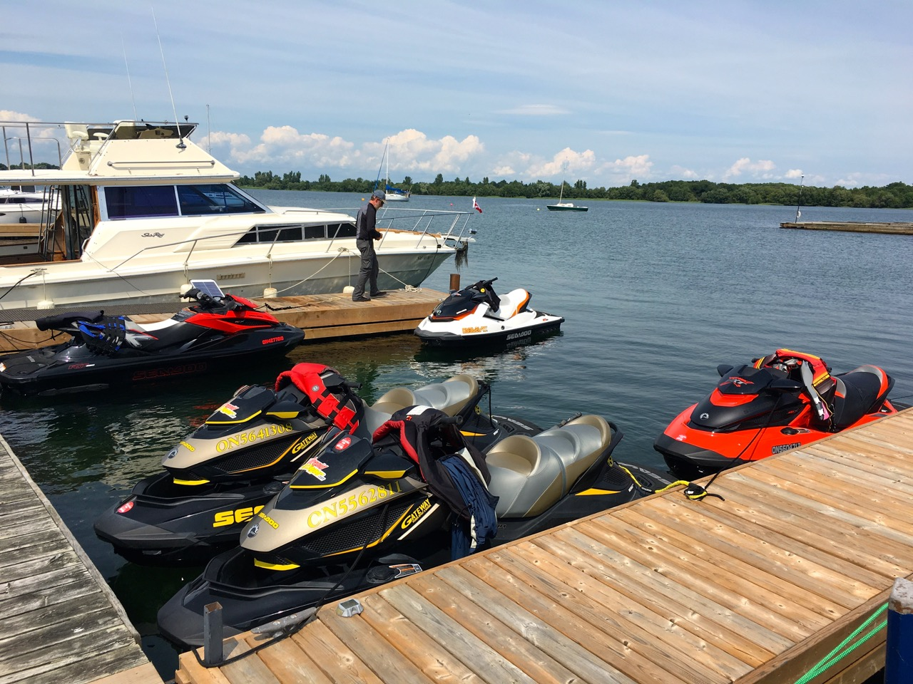Portable Dock Cleats: Easy Mooring for Sea Doo Tours - Intrepid Cottager