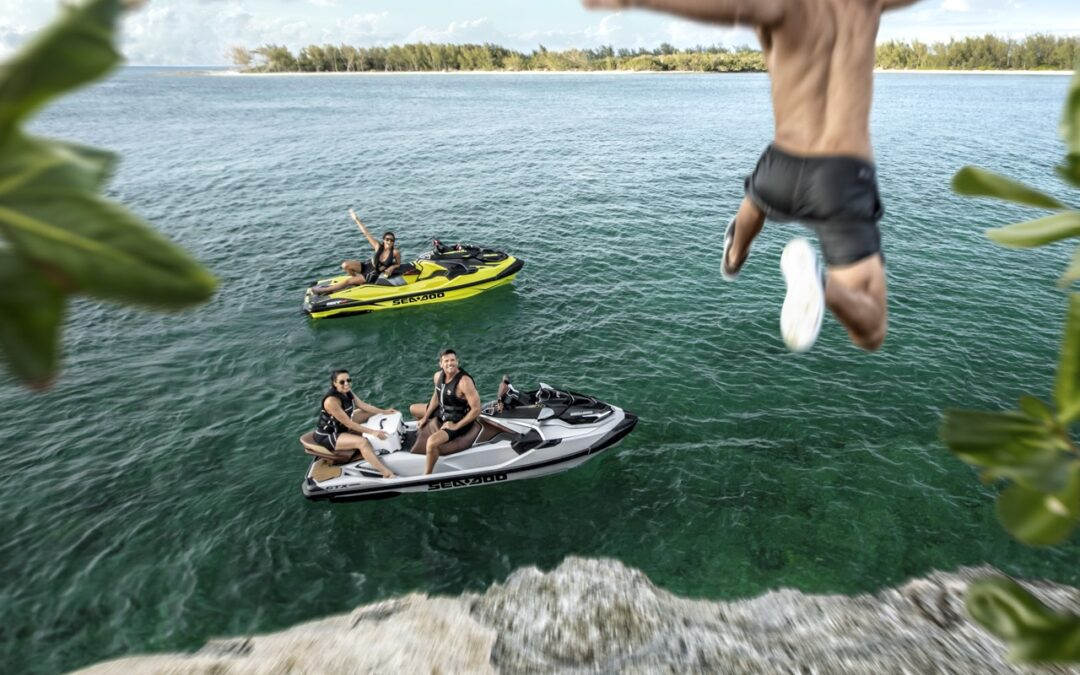 Platform Features On New Sea Doo Watercraft