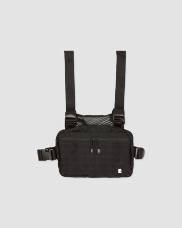 keeping cameras dry with a chest pouch