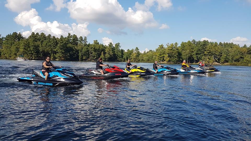 Muskoka Fall Sea Doo Tour