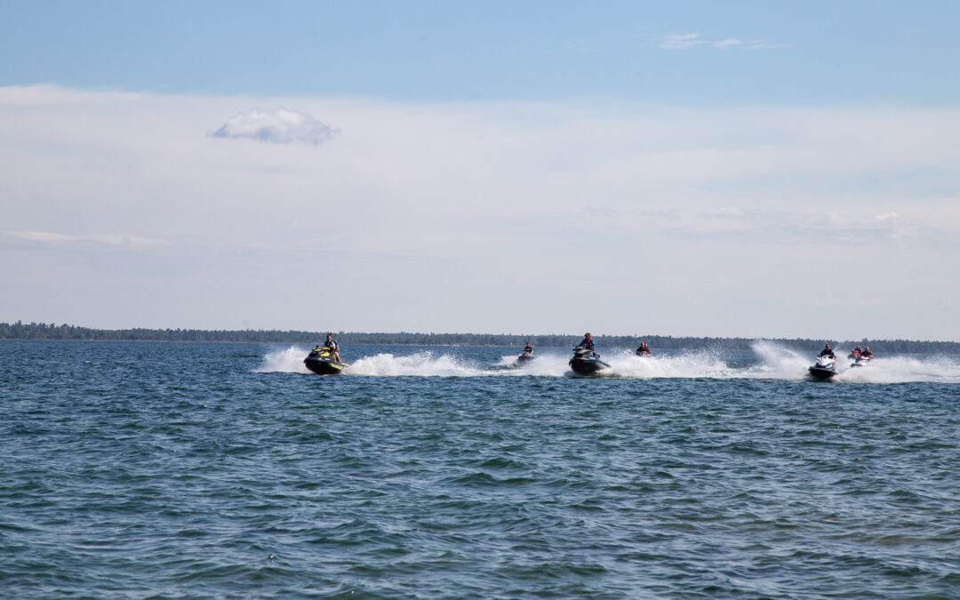 Large PWC Group Riding Tips For Jet Skis