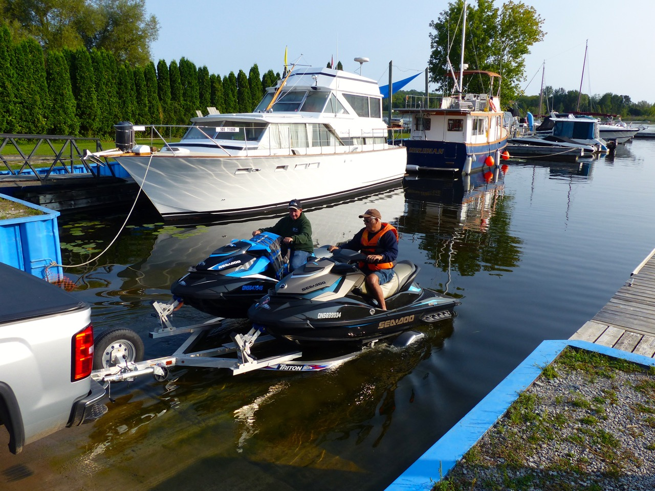 Loading and unloading at boat launches is among PWC beginners tips.